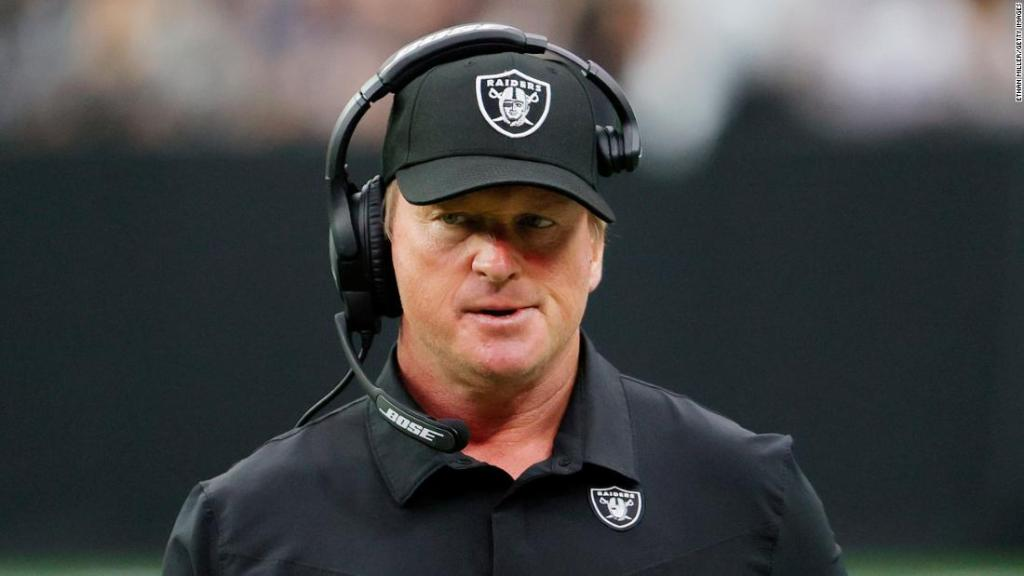 Leaks to Wall Street Journal and New York Times precipitated Jon Gruden's resignation from Raiders