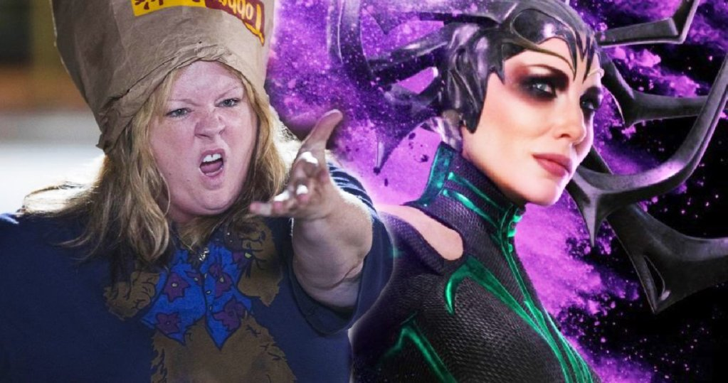 Melissa McCarthy Is Fake Hela in Latest 'Thor: Love and Thunder' Set Photos