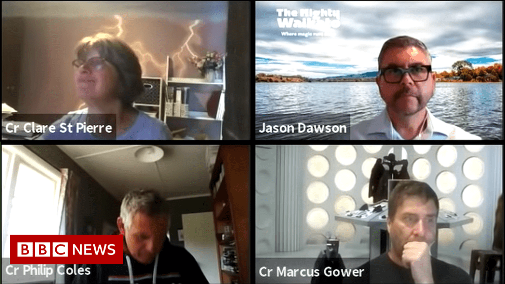 New Zealand council's Zoom talks go viral as pretend meeting
