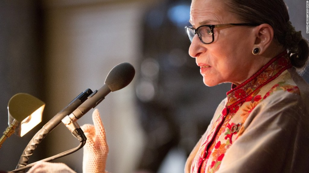 Opinion: Grant Ruth Bader Ginsburg her wish