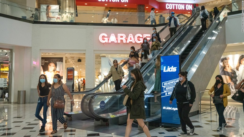 People are shopping at department stores again. But don't call it a comeback