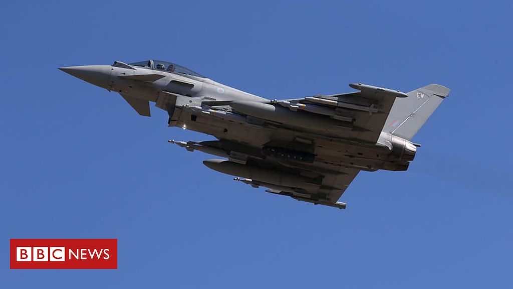RAF carries out four air strikes on IS in May