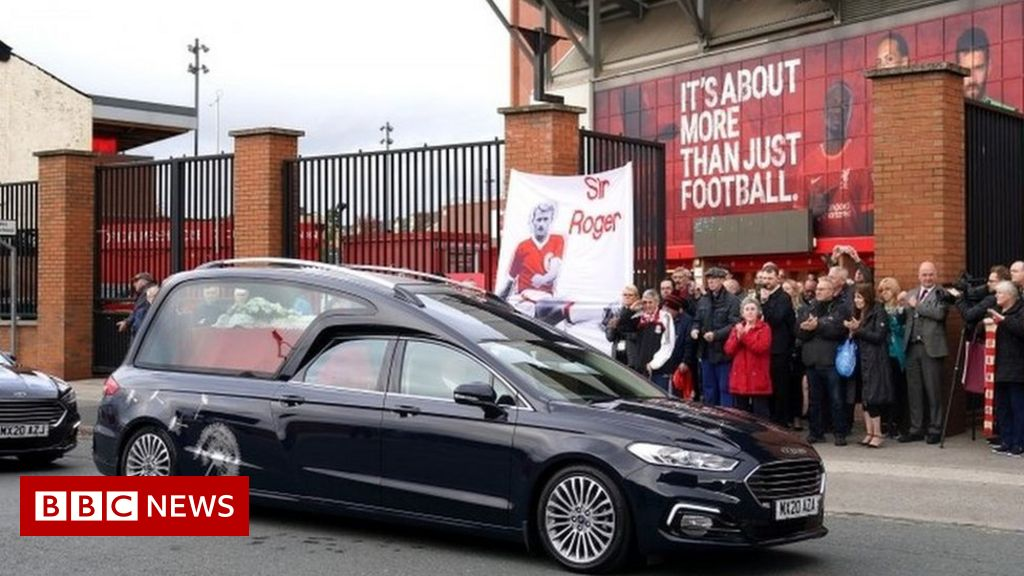 Roger Hunt funeral: Liverpool legends pay tribute at service