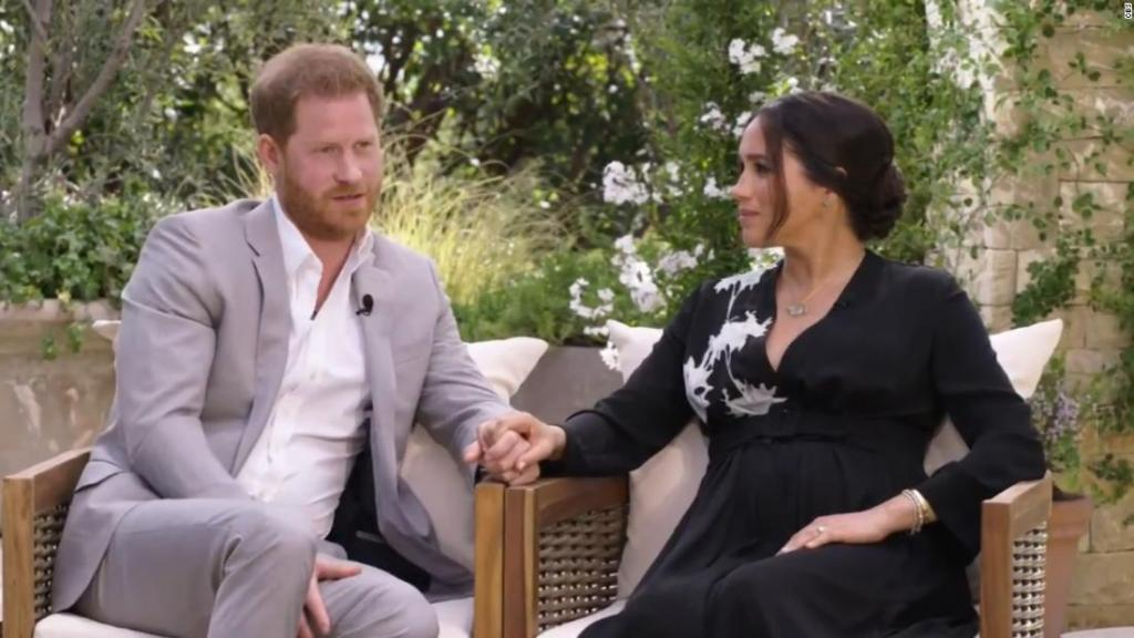 Teaser from Harry and Meghan's Oprah interview released by CBS - CNN Video