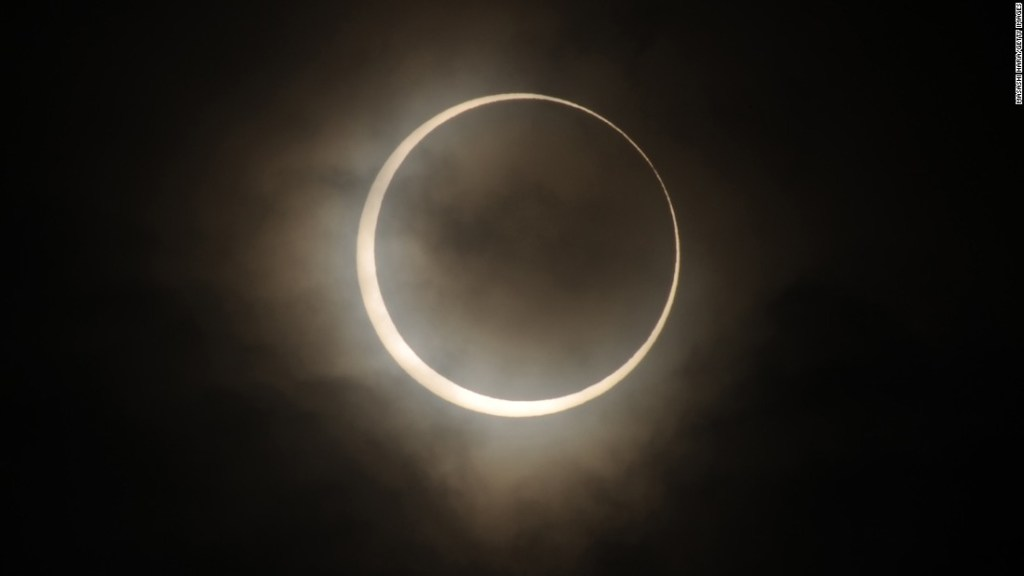 The Eastern Hemisphere will see a 'ring of fire' annular eclipse this weekend