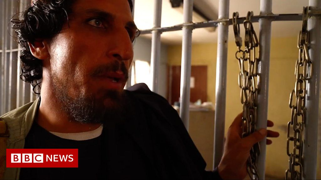 The prison staffed by inmates released by the Taliban