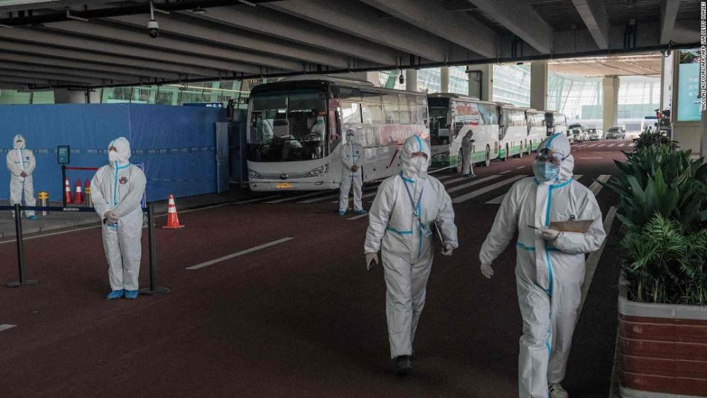 Two members of WHO team blocked from entering China over failed coronavirus test