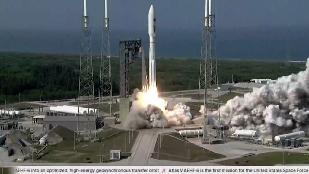 US Space Force launches initial satellite