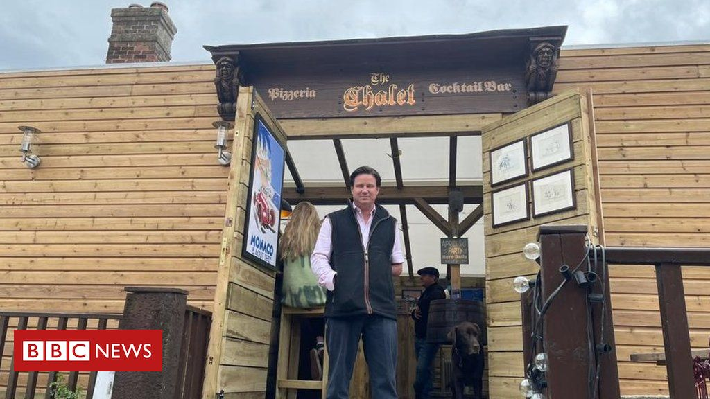 Wiltshire pub's new chalet 'breaks Covid rules'
