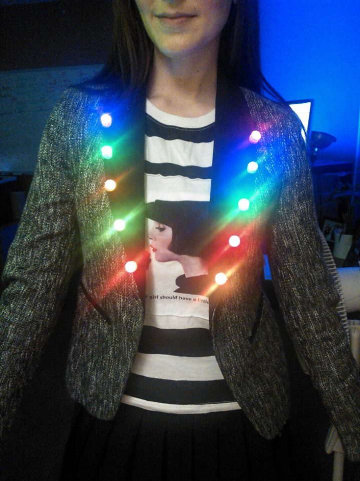 Make your own led clothing yes you can flashingblinkylights thats solutioingenieria Gallery