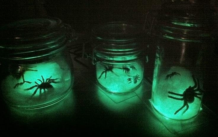 Halloween Party Tip: Light Up Bottles For Eerie Mood Lighting