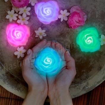 color_change_LED_deco_floating_roses