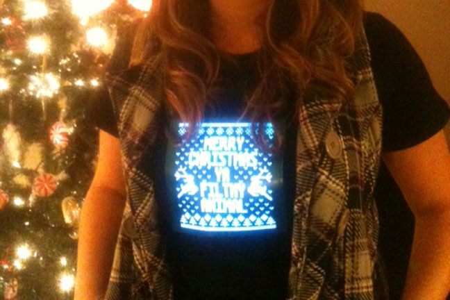 LED Light Up T Shirt Photo Gallery Flashion Statement