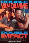 DOUBLE IMPACT – il primo sdoppiamento cinematografico di Jean Claude Van Damme