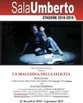 LA MACCHINA DELLA FELICITÀ - Flavio Insinna dal 21 Dicembre al Teatro Sala Umberto