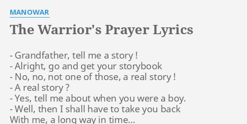 the warrior s prayer