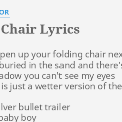 Folding Chair Regina Spektor Lyrics Outdoor High Top Table And Chairs Set By Come Open Up