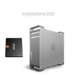 Potenziamento Mac Pro con SSD 1 Potenziamento Mac