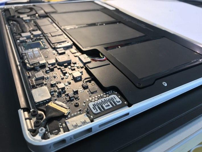 Cambiare SSD MacBook Air