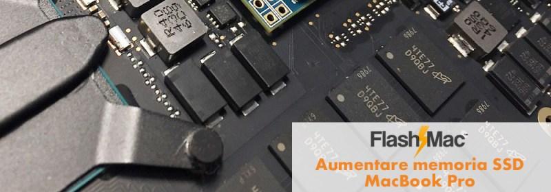 aumentare memoria macbook Pro Aumentare Memoria SSD MacBook Pro Retina