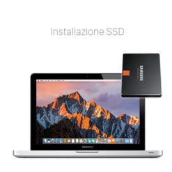 Velocizzare Macbook Pro con SSD