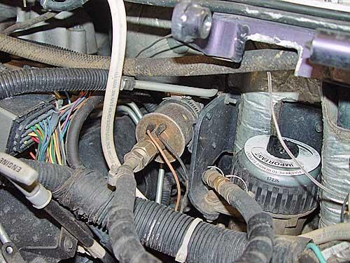 2005 dodge ram fuel filter location