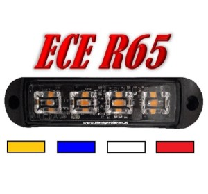 Cobra 4 Amber ECER65 led flitser category pic 2