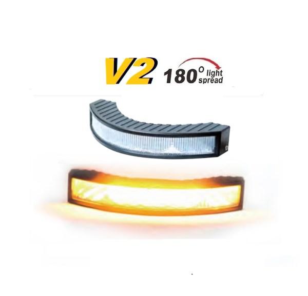 Extreem V2 R65 180 - 24Watt flashpatterns.nl amber