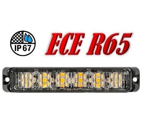 T6-Pro-Amber-ECER65 EMC-flashpatterns.nl