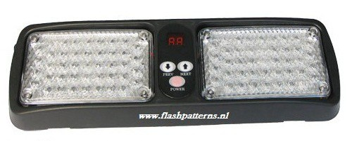LED ZONNEKLEP FLITSERS / LED VISOR LIGHTS