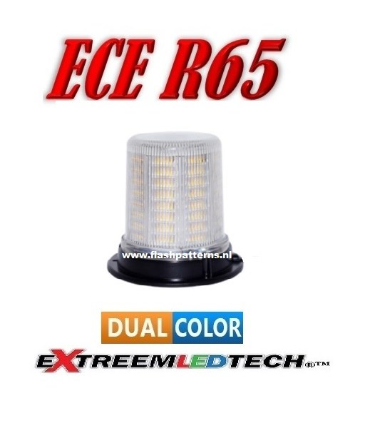 extreem challenger beacon dual color 128 led R65 R10 4 bout vast montage new new