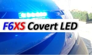 F6XS LED FLITSER FLASHPATTERNS BLAUW AAN