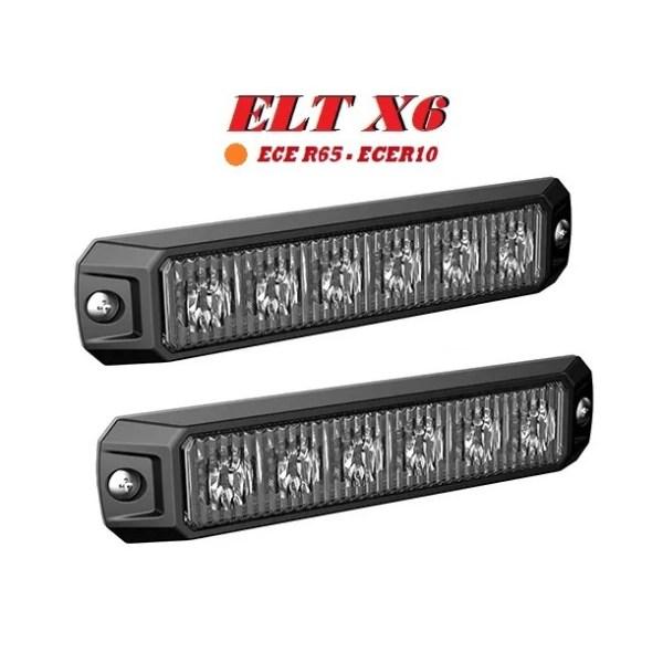 ELT-X6 R65 R10 Amber 2 stuks