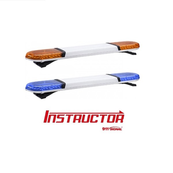 911signal instruktor amber of blauw