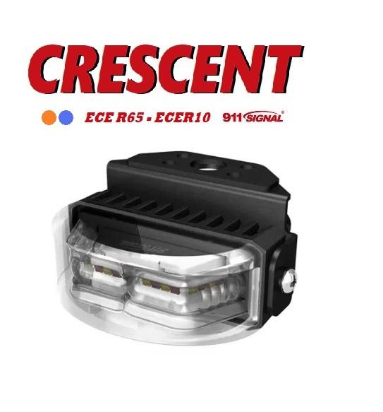 911signal Crescent Led Flitser 180 Graden, ECER65 EMC 12/24V 5 Jaar Garantie