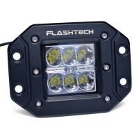 Flashtech LED Fog Light: 6 led Flush mount