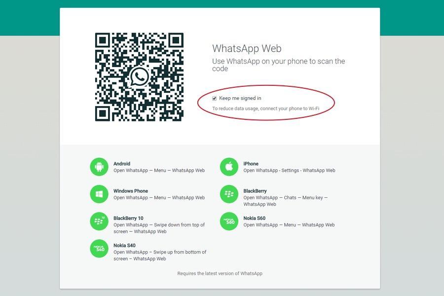 Login wa web tanpa scan barcode iphone