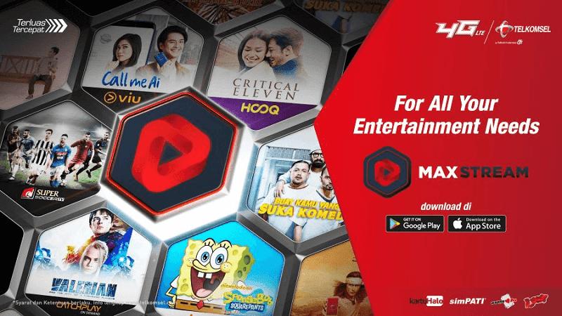 MAXstream aplikasi nonton tv online android