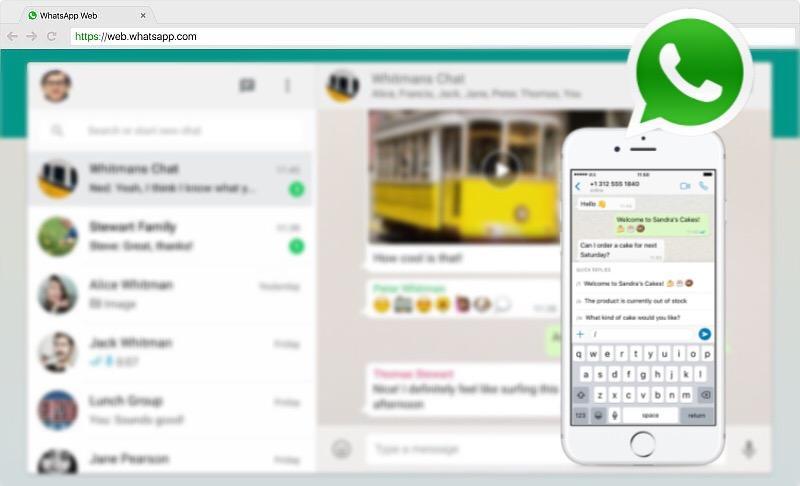 Cara login WhatsApp Web (Wa Web) iPhone