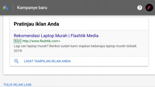 cara beriklan di google ads