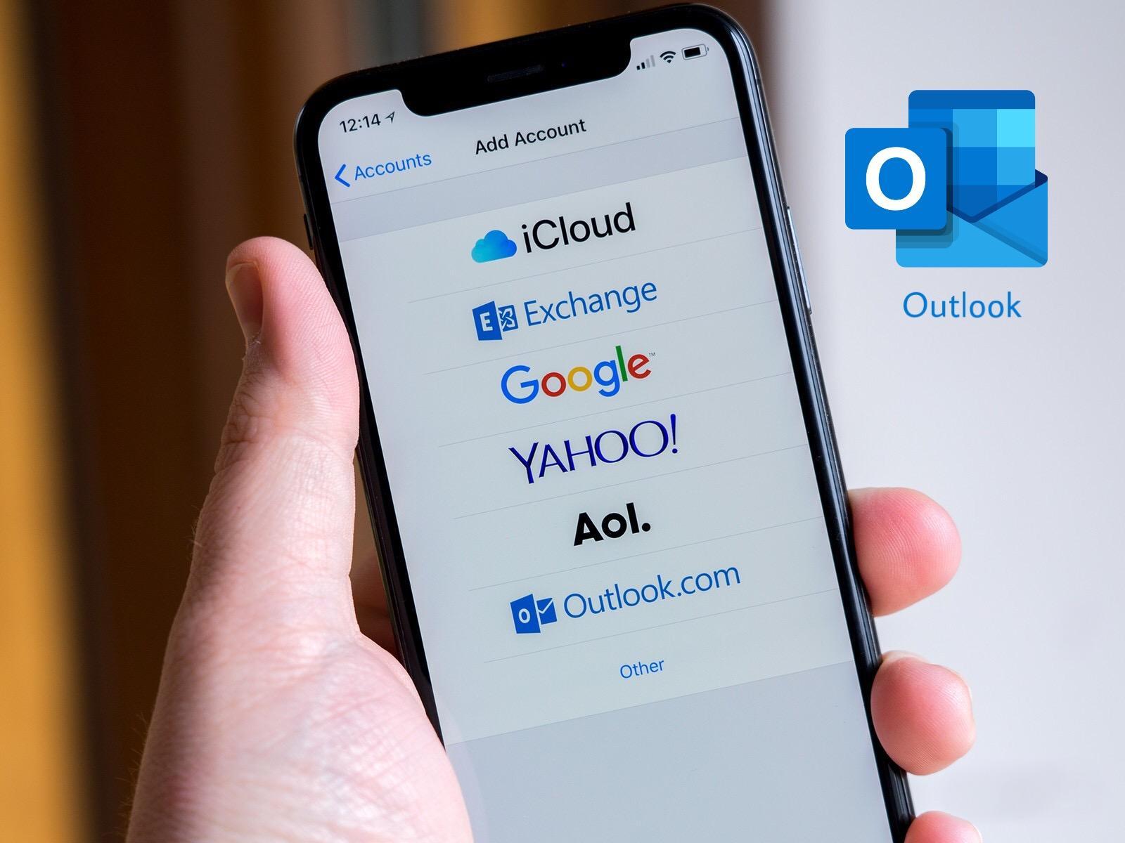 Cara login email kantor di outlook iphone