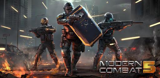 Game perang modern combat 5 di ios