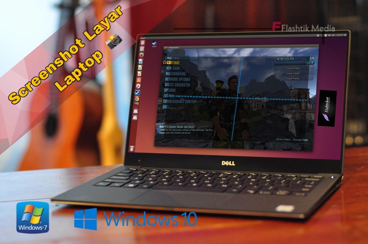 Cara ambil screenshot layar laptop windows dan macbook