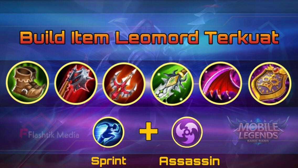 Build Item Leomord Terkuat Mobile Legends