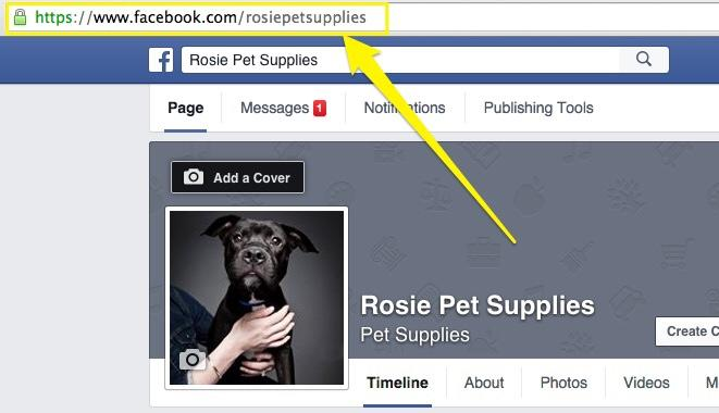 Cara copy url profil facebook