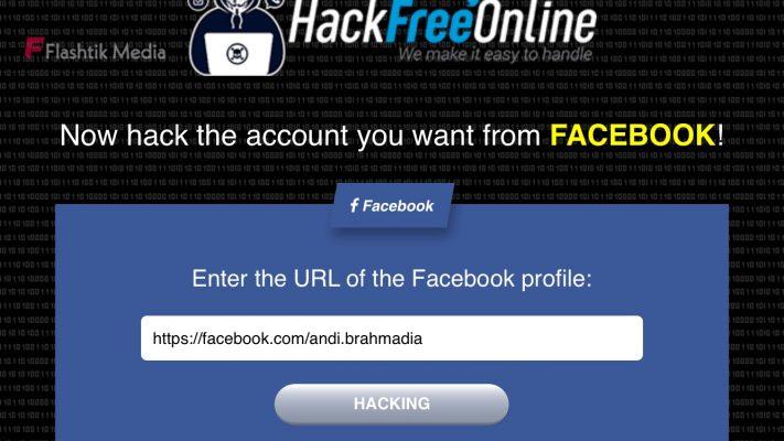 Situs hacker facebook Online