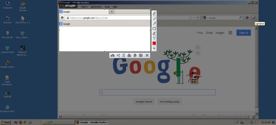 Cara screenshot layar laptop dengan lightshot