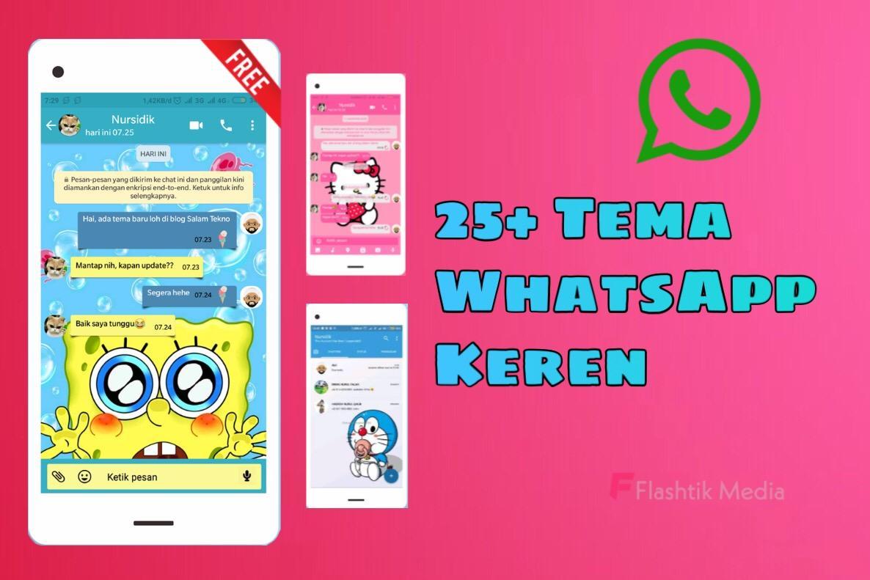 25 Tema WhatsApp Anime Lucu Dan Keren Di Android