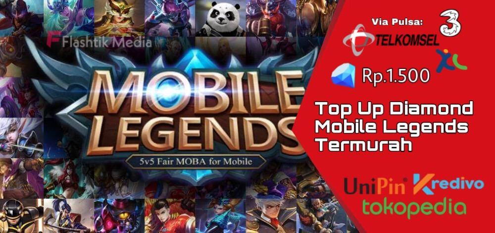 Top up diamond mobile legends termurah