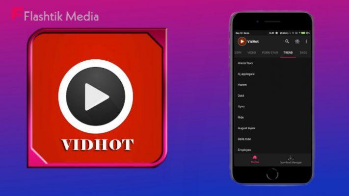 Aplikasi hot bokeh VidHot Apk